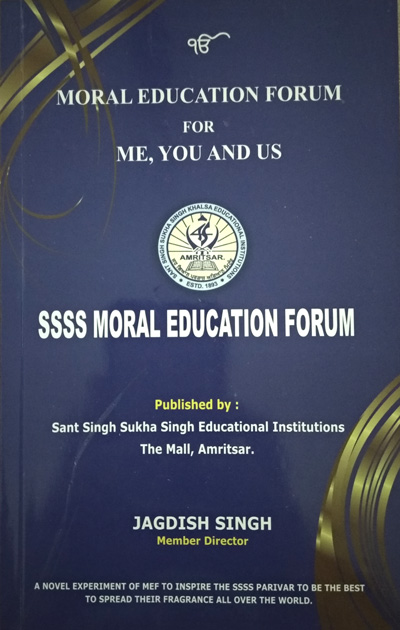 Moral Education Forum